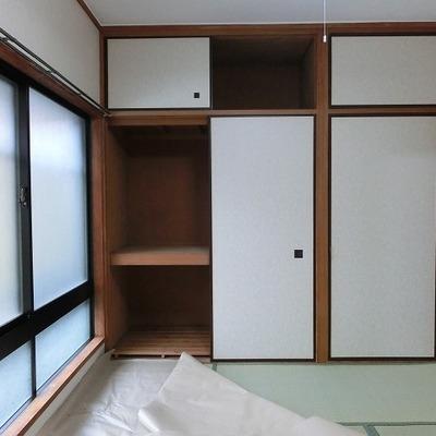 そして、ひと部屋は和室です