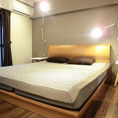 書斎スペースも確保できる寝室