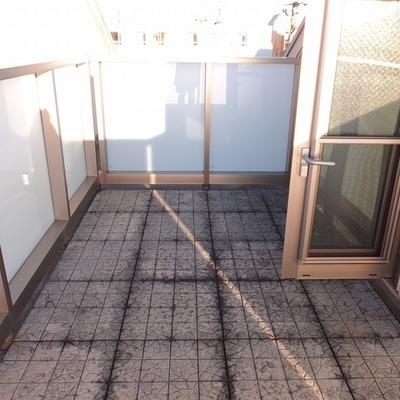 3階部分にあるルーフバルコニー。