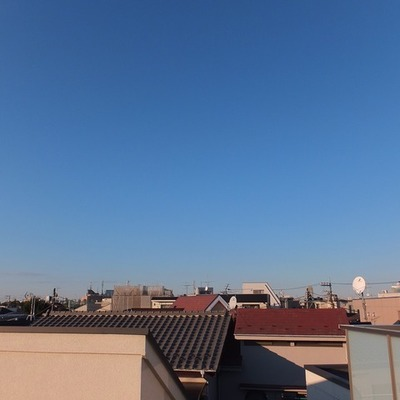 綺麗な空を独り占め!