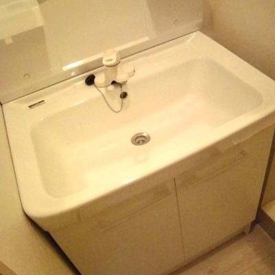 洗面台も大きい!!!