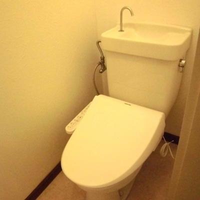 トイレも独立しているのが嬉しい