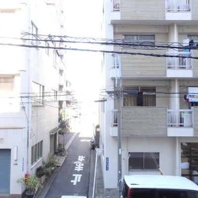 2階なので、眺望は微妙です・・・。