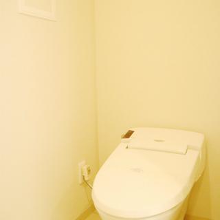 トイレは温水浄水便座。