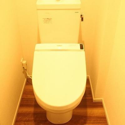 トイレも洒落た空間に仕上がってます