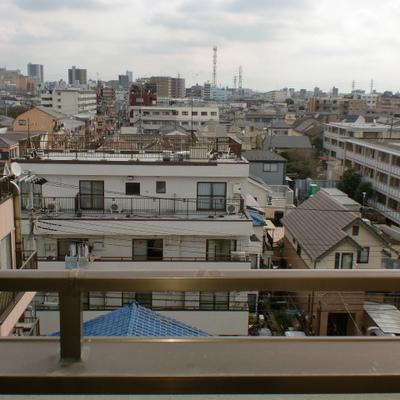 6階からの眺望は最高です!
