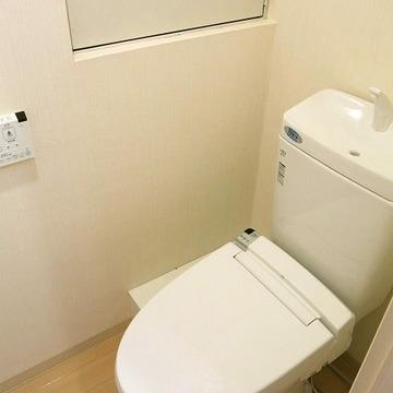 トイレは清潔感があり好印象