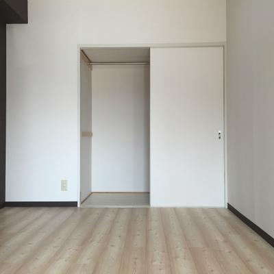 洋室の収納。
