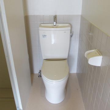 コンパクトなトイレ