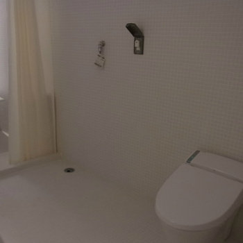 浴室は質感があります