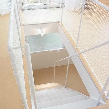 階下への階段
