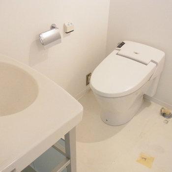 トイレ・洗面は同室