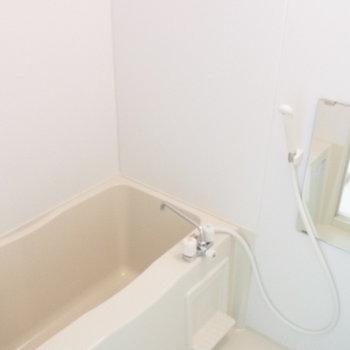 バスルームはやや小さめ