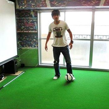 サッカー好きに贈る、夢のコンセプトルーム