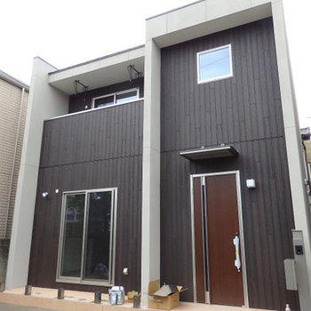 新築テラスハウス