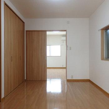 2階。2部屋あります。