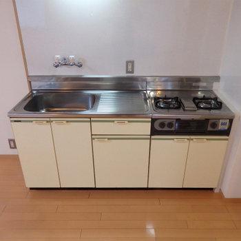 キッチンはどこか懐かしい