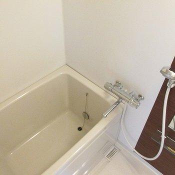 浴室もキレイで広い!