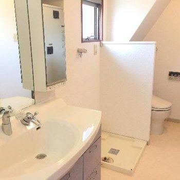 洗面台・洗濯機置場・トイレ