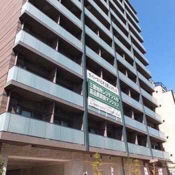 12階建て新築マンション。