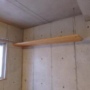 この棚には何を置きましょうか?