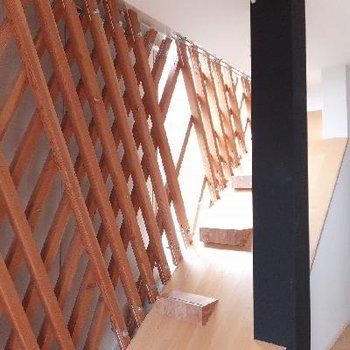 階段らしきもの。なにか飾ったり出来そう。