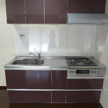 システムキッチンも大きい!