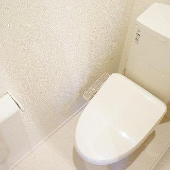 高機能なトイレ!