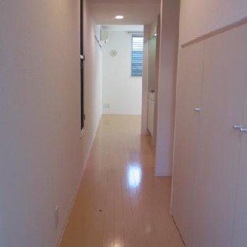 廊下からの眺め※写真は別タイプのお部屋です。