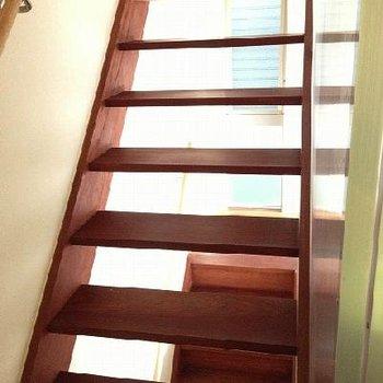 階段もいい感じです※写真は別部屋(反転)