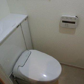 まるで卵のようなトイレ!つるん。