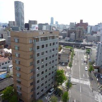 12階なので眺望良好!!