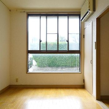 大きな窓が◎