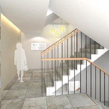 階段のイメージです。