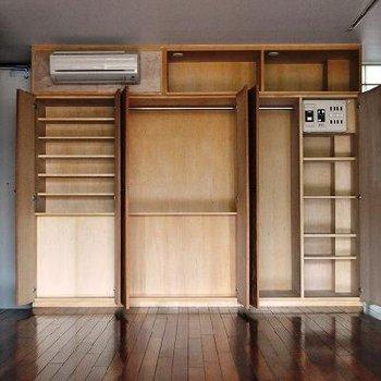 これは嬉しい収納です ※間取りの似ている別部屋の写真です