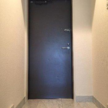 玄関は大きめです!靴箱も天井近くまで収納たっぷり!