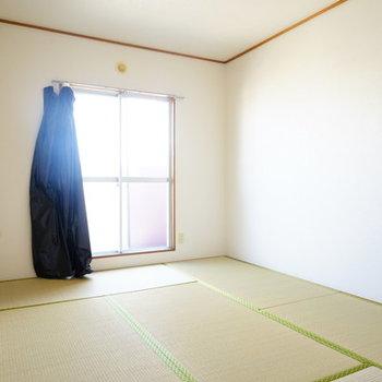 和室は6帖!いい香りがします♪