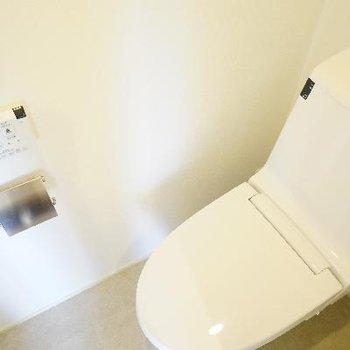 機能的なトイレです!