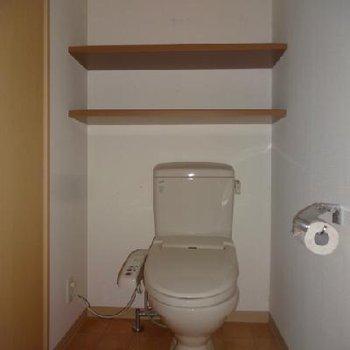 トイレにウォシュレット
