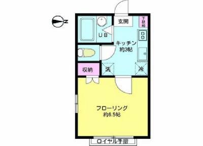 210アパートメントA の間取り