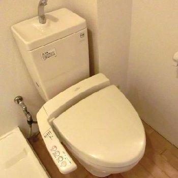 機能性を重視したトイレ!