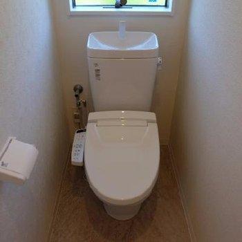 トイレは1階と2階にあります!