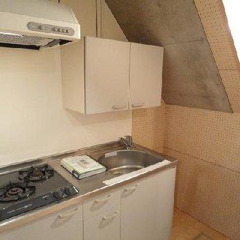 引き戸で開閉自由なキッチン※写真は別部屋