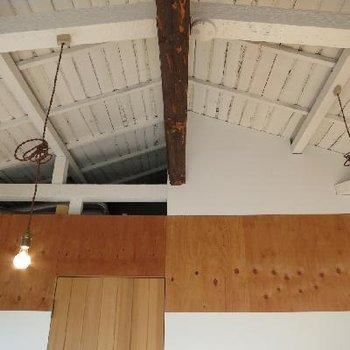 天井はつながっています。