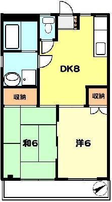 T-netシルクハウス上野町 の間取り