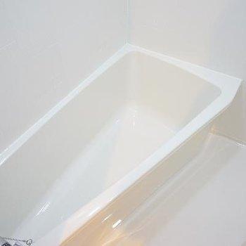 変わった形のお風呂ですね。