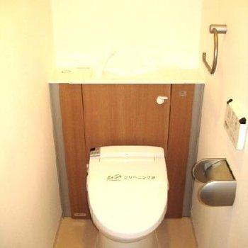 トイレ必見!後ろ部分可愛いですよね。