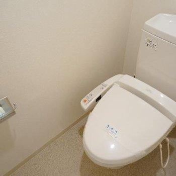 こっちは地下のトイレです。