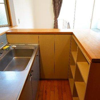 キッチンも広いスペース!