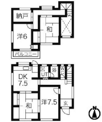 OUR HOME の間取り